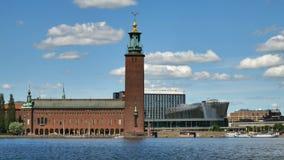 Ayuntamiento en Estocolmo almacen de video