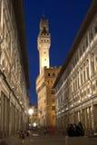 Ayuntamiento en Florencia Fotografía de archivo libre de regalías