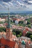 Ayuntamiento en Gdansk Foto de archivo