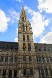 Ayuntamiento en Grand Place Imagenes de archivo