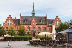 Ayuntamiento en Hilleroed Imagenes de archivo
