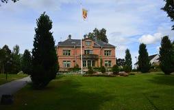 Ayuntamiento en Katrineholm, Suecia Imagenes de archivo