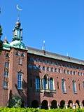 Ayuntamiento en Kungsholmen (Estocolmo, Suecia) imagen de archivo libre de regalías
