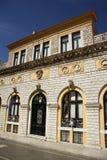 Ayuntamiento en la ciudad de Corfú (Grecia) Foto de archivo