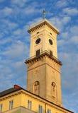 Ayuntamiento en Lviv Imagenes de archivo