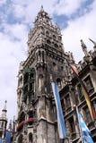 Ayuntamiento en Munich Fotografía de archivo libre de regalías