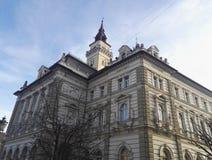 Ayuntamiento en Novi Sad, Serbia Fotos de archivo