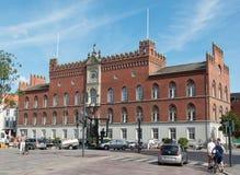 Ayuntamiento en Odense Fotografía de archivo