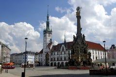 Ayuntamiento en Olomouc, República Checa Foto de archivo libre de regalías