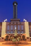 Ayuntamiento en Ostrava Imagenes de archivo