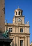 Ayuntamiento en 'Place de la République', Arles (ciudad), Bouche-du-RhÃ'ne Dpt (13), Francia imagen de archivo