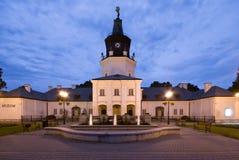 Ayuntamiento en Siedlce, Polonia imagen de archivo