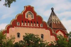 Ayuntamiento en Subotica Fotos de archivo