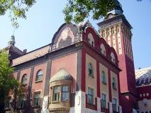 Ayuntamiento en Subotica Voivodina, Serbia Fotografía de archivo libre de regalías