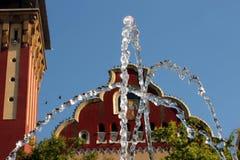 Ayuntamiento en Subotica Foto de archivo libre de regalías