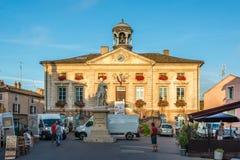 Ayuntamiento en Tournus Fotografía de archivo libre de regalías