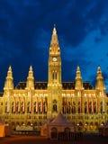 Ayuntamiento en Viena imágenes de archivo libres de regalías