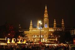 ayuntamiento en Viena fotos de archivo