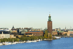 Ayuntamiento Estocolmo Fotografía de archivo