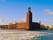 Ayuntamiento, Estocolmo, Suecia Fotografía de archivo