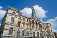 Ayuntamiento fa Bilbao Immagine Stock Libera da Diritti
