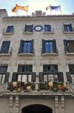 Ayuntamiento Girona Fotografía de archivo libre de regalías