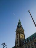 Ayuntamiento Hamburgo foto de archivo libre de regalías