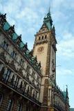 Ayuntamiento Hamburgo fotos de archivo