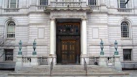 Ayuntamiento Hartford Connecticut Fotografía de archivo libre de regalías