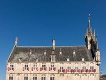 Ayuntamiento, Holanda el Gouda Imagen de archivo