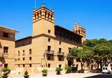 Ayuntamiento of Huesca. Aragon Stock Image