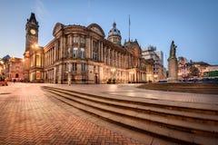 Ayuntamiento, Inglaterra Birmingham foto de archivo libre de regalías
