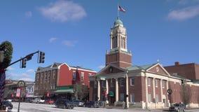 Ayuntamiento Líbano céntrico, Ohio almacen de video