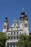 Ayuntamiento Leipzig fotografía de archivo libre de regalías