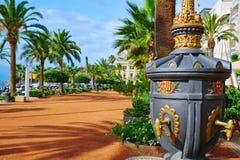 Ayuntamiento Lloret De Mar przy Verdaguer passeig Fotografia Royalty Free