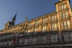 Ayuntamiento Madrid Imagen de archivo libre de regalías