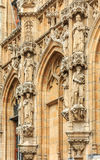 Ayuntamiento medieval en Lovaina Bélgica Imagen de archivo