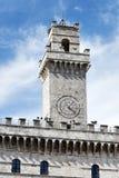 Ayuntamiento Montepulciano Imagen de archivo libre de regalías