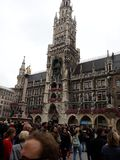 Ayuntamiento Munich imagen de archivo