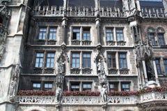 Ayuntamiento Munich Fotografía de archivo libre de regalías