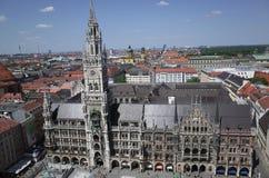 Ayuntamiento Munich Fotos de archivo libres de regalías