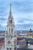 Ayuntamiento Munich, Alemania fotografía de archivo
