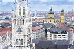 Ayuntamiento Munich, Alemania fotografía de archivo libre de regalías