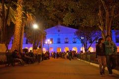 Ayuntamiento, México San Cristobal de Las Casas Foto de archivo