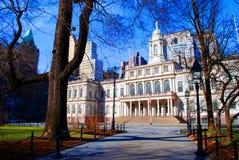 Ayuntamiento, Nueva York Foto de archivo
