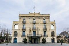 Ayuntamiento Olesa de Montserrat Fotos de archivo libres de regalías