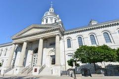 Ayuntamiento, Ontario, Canadá Kingston fotos de archivo libres de regalías