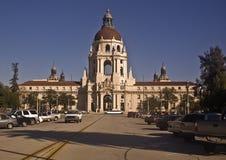 Ayuntamiento Pasadena del lado oeste Imagen de archivo libre de regalías