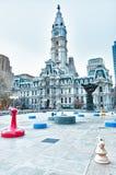Ayuntamiento Philadelphia Fotos de archivo libres de regalías