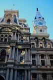 Ayuntamiento Philadelphia por la tarde fotos de archivo libres de regalías